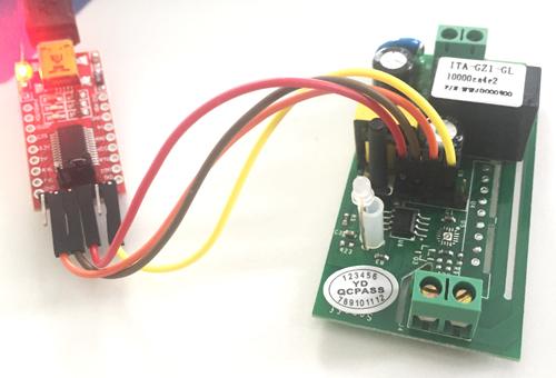 Sonoff kytkentä ohjelmointia varten
